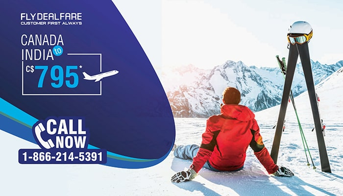 WINTER TRAVEL OFFERS : CANADA TO INDIA ROUND TRIP FLIGHT DEALS STARTS FROM C$795*