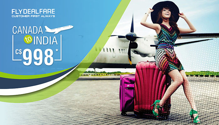 APRIL TRAVEL OFFERS : CANADA TO INDIA ROUND TRIP STARTS FROM C$998*