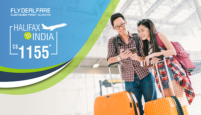 HALIFAX TO INDIA FLIGHT DEALS : ROUND TRIP STARTS FROM C$1155*