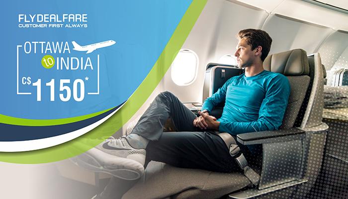 OTTAWA TO INDIA FLIGHT DEALS : ROUND TRIP STARTS FROM C$1150*